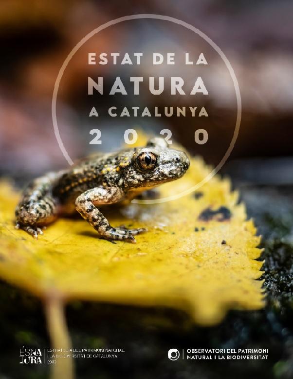 Presentació de l'informe de l'Estat de la Natura 2020 a Catalunya