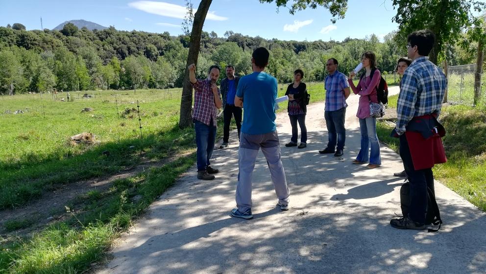 L'agrosilvopastura integrada com a eina de gestió territorial. Visita al projecte LIFE Polyfarming.
