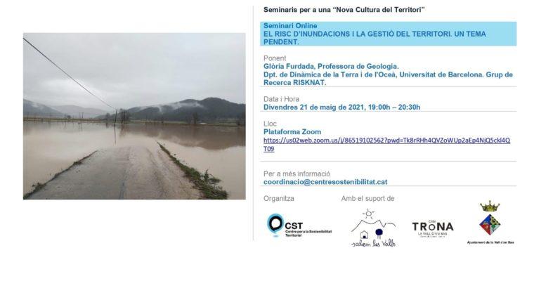 """Vídeo del seminari: """"Risc d'inundacions i gestió territorial. Un repte pendent"""""""